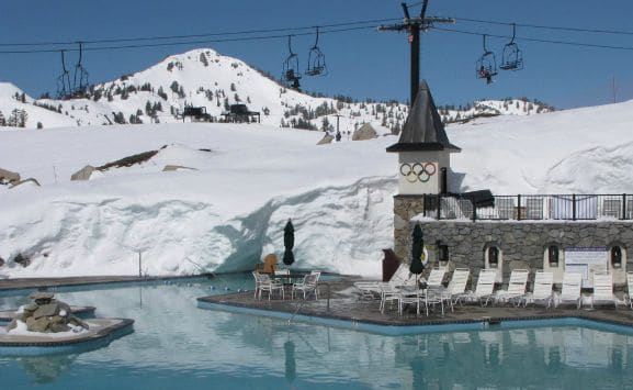Lake tahoe summer activities 4th of july in lake tahoe - High camp swimming pool squaw valley ...
