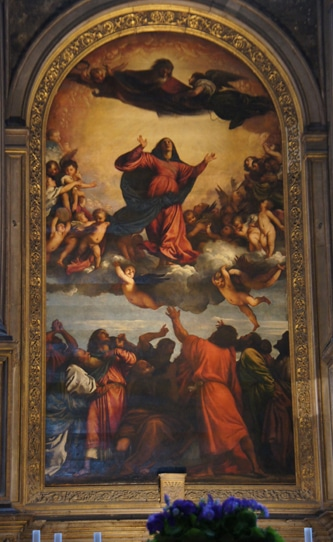 Titian's Assumption of the Virgin in Venice