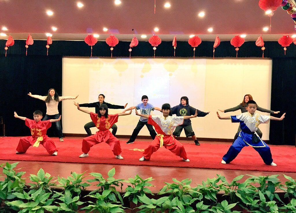 china-with-kinds-kung-fu-school