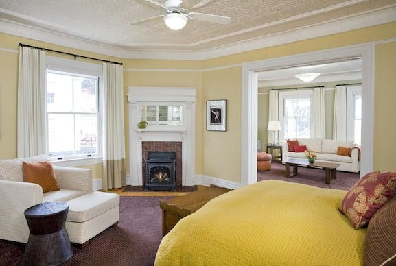 A two-bedroom suite. Courtesy of Cavallo Point.