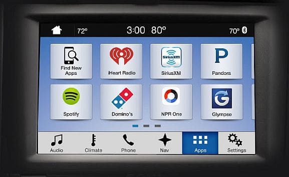 Ford SYNC In-Car Communications System