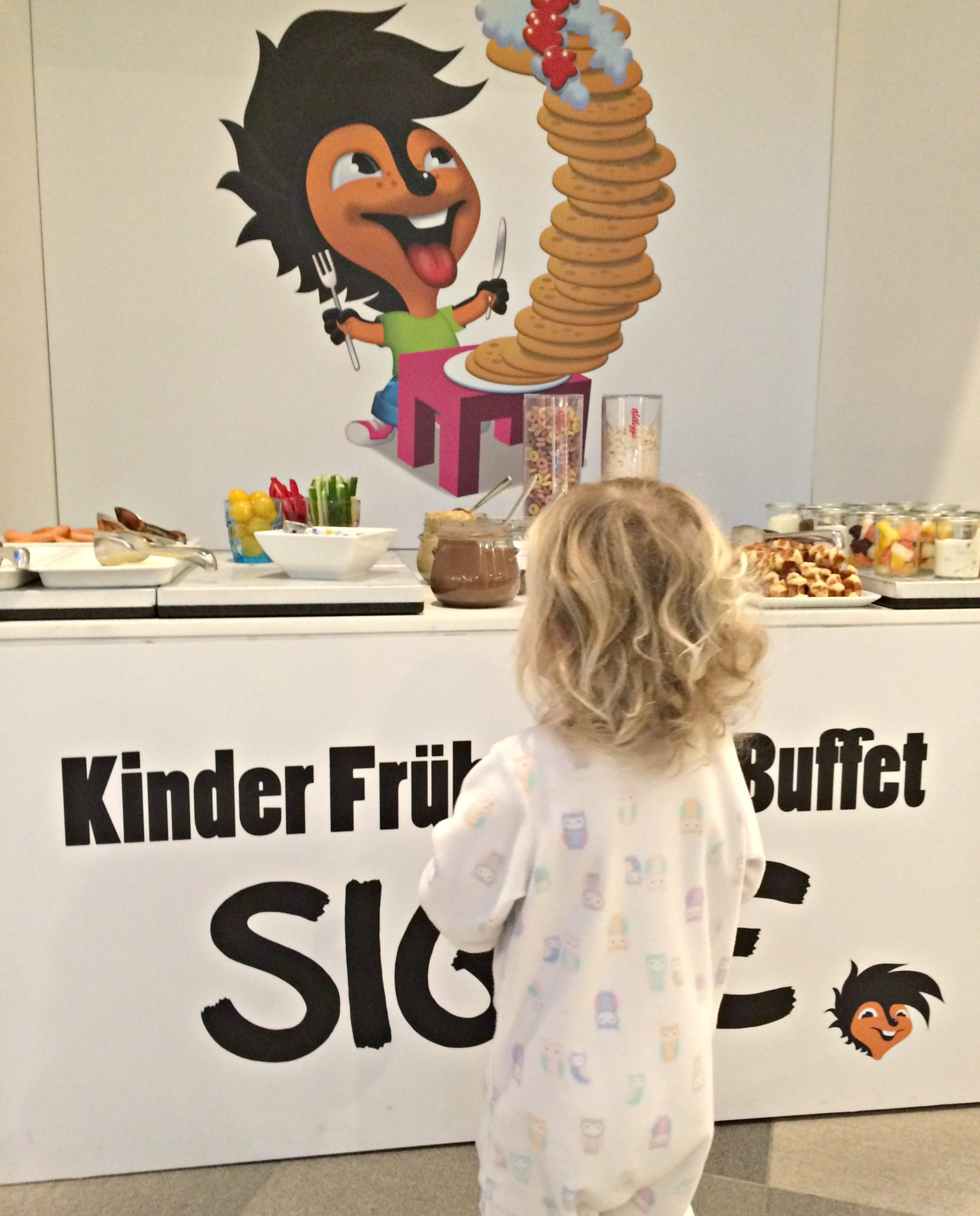 Scandic Berlin Potsdamer Platz kids buffet