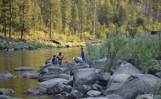 middle fork of the salmon river in idaho