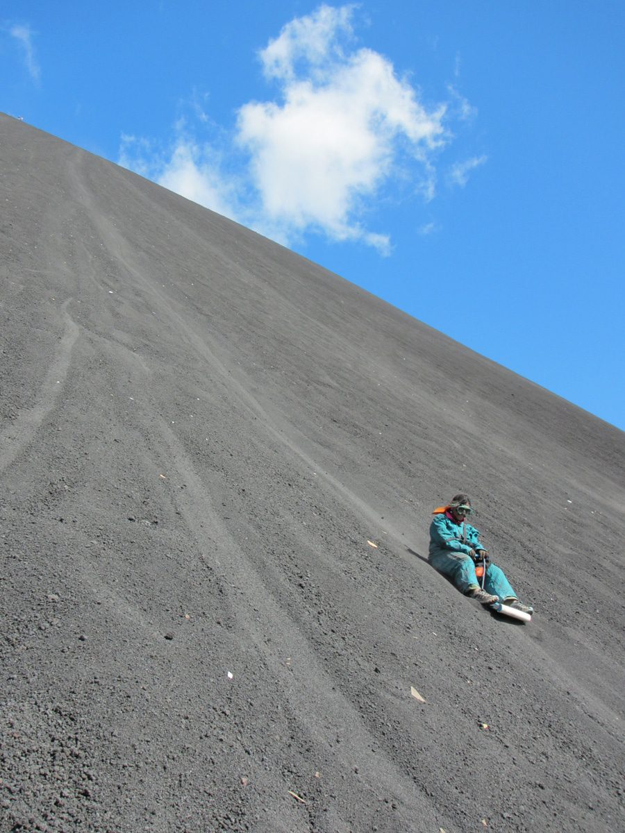 Things to Do in Nicaragua with Kids, Cerro Negro Sandboarding