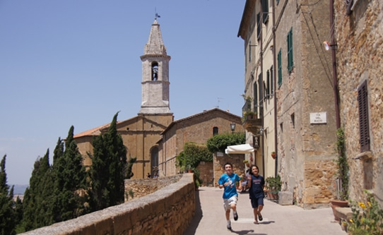 Pienza Val D'Orcia Italy with Kids