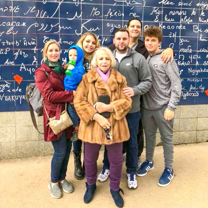 Renata's family vacation in France